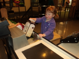 Playing cash register