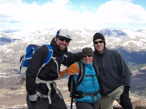 Me and my 14er buddies